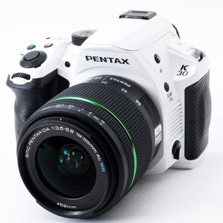 ペンタックス(PENTAX)のボディもレンズも防滴素敵で最強のシルキーホワイトK-30★スマホ転送可(デジタル一眼)