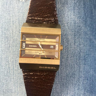 ディーゼル(DIESEL)のディーゼル腕時計 電池交換済(腕時計(アナログ))