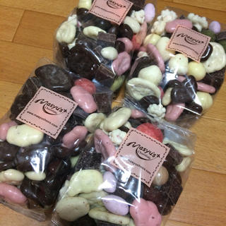 ⭐︎マシュー チョコ      ミックス 4袋(菓子/デザート)