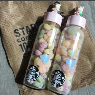 スターバックスコーヒー(Starbucks Coffee)のベアリスタ キャンディボトル ペア(菓子/デザート)