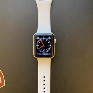 アップルウォッチ(Apple Watch)のAppleWatch Series 3 42mm セルラー版 アルミケース(腕時計(デジタル))