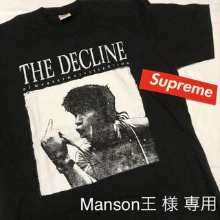 シュプリーム(Supreme)のSupreme シュプリーム Tシャツ M 新品 ブラック ステッカー付き(Tシャツ/カットソー(半袖/袖なし))