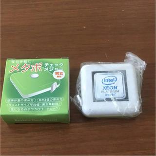 新品 非売品 インテル Intel メタボ メジャー ダイエット