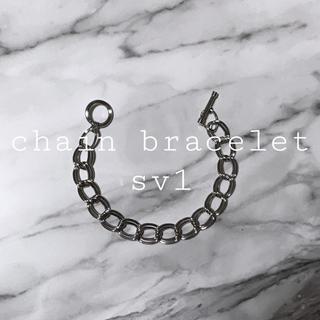 トーガ(TOGA)の chain bracelet sv1(ブレスレット/バングル)