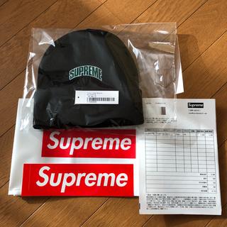 シュプリーム(Supreme)のSupreme Crown Logo Beanie Black (ニット帽/ビーニー)