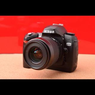 ニコン(Nikon)のNikon ニコン D70 レンズキット!シャッター数少ない 10-20(デジタル一眼)