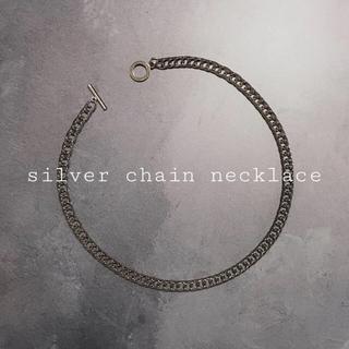 トーガ(TOGA)のsilver chain necklace(ネックレス)