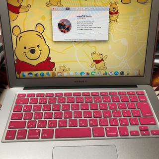 マック(Mac (Apple))のMacBookAIR 13-inch(ノートPC)