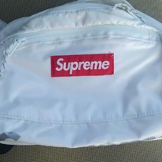 シュプリーム(Supreme)のsupreme 17fw waist bag 白(ウエストポーチ)