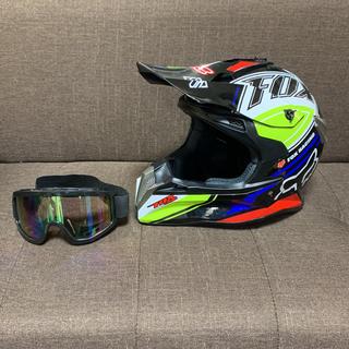 輸入品 オフロードヘルメット サイズXL(モトクロス用品)