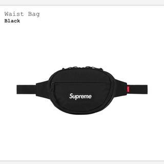 シュプリーム(Supreme)の送料込み 新品 Supreme Waist Bag ウェストバッグ 黒 ブラック(ウエストポーチ)