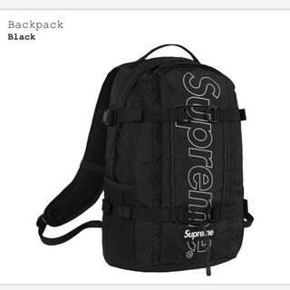 シュプリーム(Supreme)の送料込み 新品 Supreme Backpack バッグパック ブラック 黒(バッグパック/リュック)