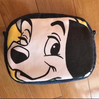 ディズニー(Disney)のハンドメイド ディズニー ビンテージシーツ 101匹わんちゃん デニムポーチ(ポーチ)
