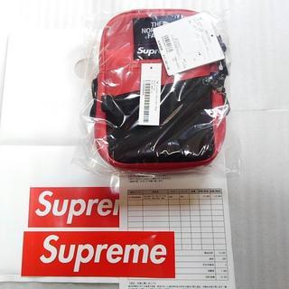 シュプリーム(Supreme)のRED The North Face Leather Shoulder Bag(ショルダーバッグ)
