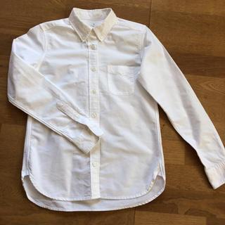 MUJI (無印良品) - 無印良品 洗いざらしオックスボタンダウンシャツ XS