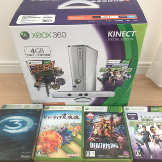 Xbox 360 Kinect ソフト4本