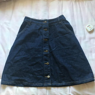 オリーブデオリーブ(OLIVEdesOLIVE)の台形スカート(ひざ丈スカート)