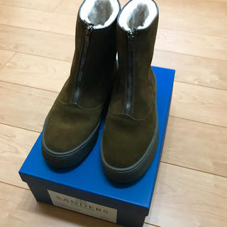 サンダース(SANDERS)の新品 サンダース★ムートンブーツ UK6(ブーツ)