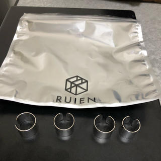 ruien knuckle ring set silver(リング(指輪))