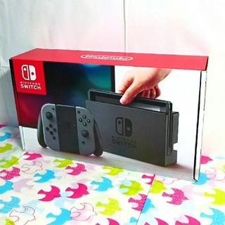 ニンテンドースイッチ(Nintendo Switch)の新品☆ニンテンドーswitch本体【液晶保護フィルム付き】(家庭用ゲーム本体)