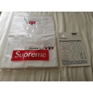 シュプリーム(Supreme)の【Large】 Supreme/Playboy Pocket Tee White(Tシャツ/カットソー(半袖/袖なし))