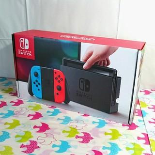 ニンテンドースイッチ(Nintendo Switch)の新品☆ニンテンドーswitch本体(家庭用ゲーム本体)