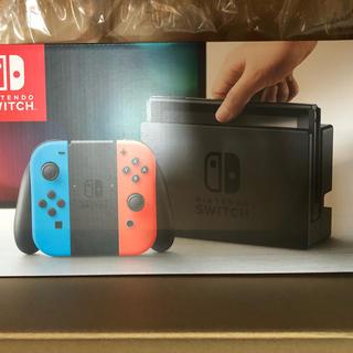 ニンテンドースイッチ(Nintendo Switch)のニンテンドースイッチ 新品未開封 Nintendo switch(家庭用ゲーム本体)