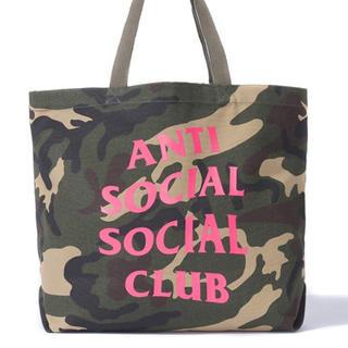 アンチ(ANTI)のAnti social social club Tote  トートバッグ(トートバッグ)