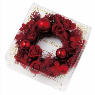 キャンドルジュン(candle june)の新品  キャンドルリース フラワーリース *クリスマス ツリー*(リース)