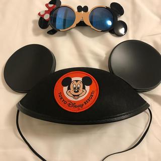 ディズニー(Disney)のディズニー ミッキー 帽子 サングラスセット(キャップ)