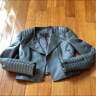 ビーシービージーマックスアズリア(BCBGMAXAZRIA)のBCBGMAXAZRIA ライダースジャケット 美品(ライダースジャケット)