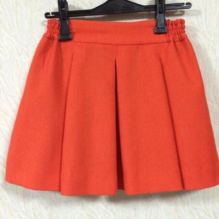 ローリーズファーム(LOWRYS FARM)のLowrys オレンジ スカート(ミニスカート)