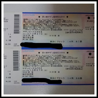 茅ヶ崎 サザン芸術花火 椅子指定席(その他)