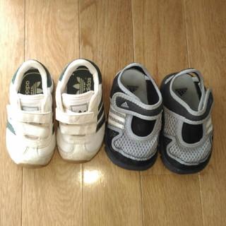 アディダス(adidas)のアディダススニーカー、サンダル2足セット 12(スニーカー)