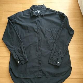 MUJI (無印良品) - 無印ネイビーシャツ