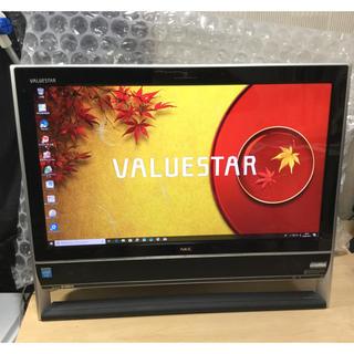 エヌイーシー(NEC)の★初心者の方必見!スペックUP!NEC VALUESTAR VN370/NSB(デスクトップ型PC)