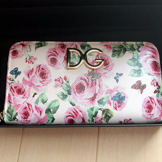 DOLCE&GABBANA - ドルチェ&ガッバーナ  長財布 ドルガバ  薔薇