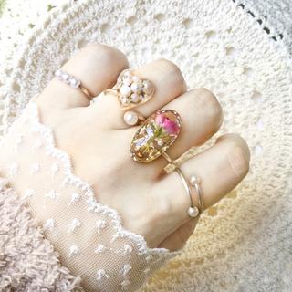 指輪セット 【D】ワイヤーリング