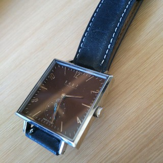 ノット(KNOT)の☆シーモ150様専用☆ ノット knot  腕時計  スクエア フェイス(腕時計)