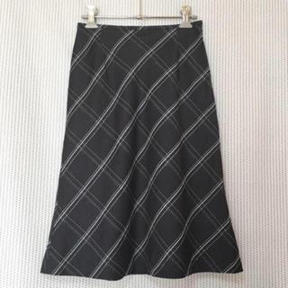 アリスバーリー(Aylesbury)のアリスバーリー ひざ下スカート チェック柄(ひざ丈スカート)