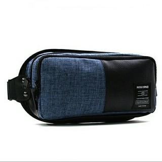 ブルー色★ボディ―バッグ『男女共用バッグ』斜めがけバッグ/旅行バッグ