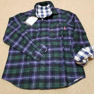 mikihouse - ミキハウス130サイズキングくんリバーシブルシャツ