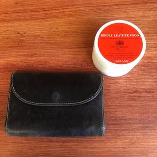 ホワイトハウスコックス(WHITEHOUSE COX)のWhite House Cox 三つ折り財布&レザークリーム(折り財布)