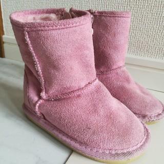 ムートンブーツ★14センチ ★モコモコブーツ(ブーツ)