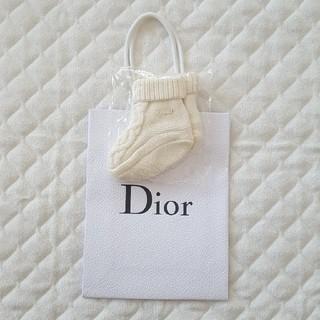 ベビーディオール(baby Dior)の【新品・未使用・未開封】Baby Dior ベビーディオール ニットソックス(靴下/タイツ)