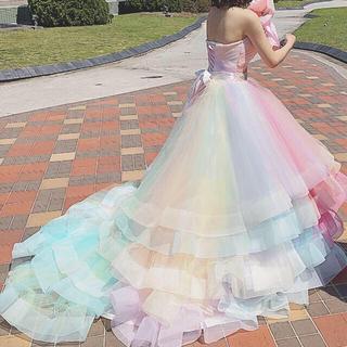 AIMER - レインボーウエディングドレス