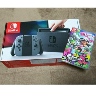 ニンテンドースイッチ(Nintendo Switch)のニンテンドースイッチ & スプラトゥーン2(家庭用ゲーム本体)