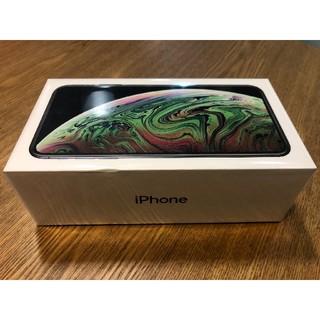 アップル(Apple)のオレンジ☆様専用 新品 香港版 iPhone XS MAX 256GB 黒色(スマートフォン本体)