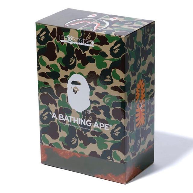 A BATHING APE(アベイシングエイプ)の新品未開封 BE@BRICK READYMADE BAPE 100% 400% エンタメ/ホビーのフィギュア(その他)の商品写真
