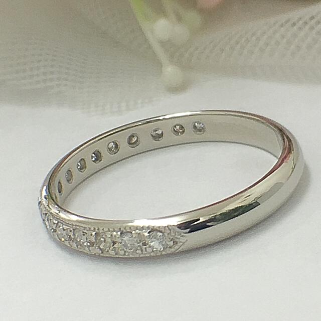 ノンノンばあ様専用♡Pt900 ♡エタニティリング ♡ダイヤモンド♡ レディースのアクセサリー(リング(指輪))の商品写真